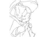 Herba parasol sketch for Final Fantasy Unlimited