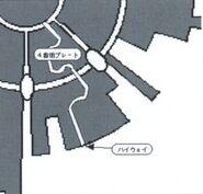 Midgar Escape Route Diagram