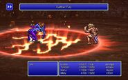 SMN using Earthen Fury from FFIII Pixel Remaster