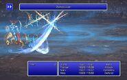 SMN using Zantetsuken from FFIII Pixel Remaster