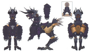 FFXIV Behemoth Chocobo Concept