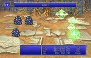 Firion using Barrier II from FFII Pixel Remaster