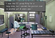Kadowaki reveals she used to be in CC Group from FFVIII R.png
