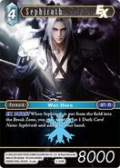 Sephiroth 3-039R from FFTCG Opus