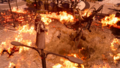 Ardyn and Ifrit in FFXV Episode Ardyn