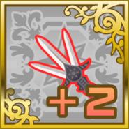 FFAB Dancing Dagger +2 SR