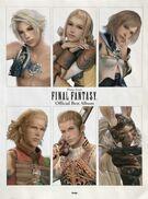 Final fantasy official best album sheet music