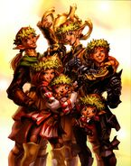 Happy Wreath Family