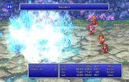 Maria using Blizzard X from FFII Pixel Remaster