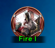 FFDII Ifrit Fire icon