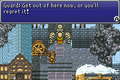 FFVI GBA Banon kicked out of Narshe