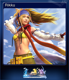 FFXX2 HD Steam Card Rikku.png