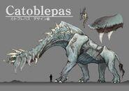 Final Fantasy XV Catoblepas Artwork