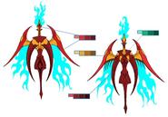 Phoenix palette concept for Final Fantasy Unlimited