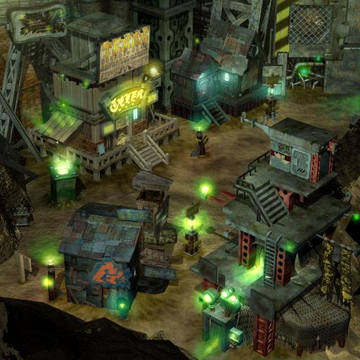 Sector 7 Slums (Final Fantasy VII field)