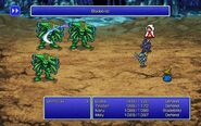 DRK using Bladeblitz from FFIII Pixel Remaster