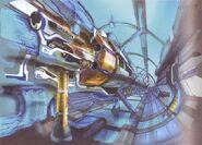 Lunar Gate Capsule Launch Bay FFVIII Art