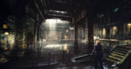 Midgar-Slums-Sewers-FFVIIR-Artwork