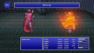 Rubicante using Inferno from FFIV Pixel Remaster