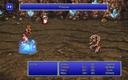 WHM using Poisona from FFIII Pixel Remaster