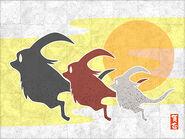 New Year Artwork 2011 (FFXI)