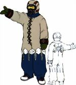 Al Bhed Kid NPC from Final Fantasy X.