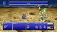 Cecil using Heal from FFIV Pixel Remaster