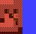 FFII NES Lava Damage Floor