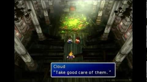 Aeris's ghost and church glitches - FFVII