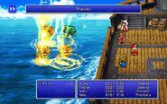 BLM using Thundara from FFIII Pixel Remaster