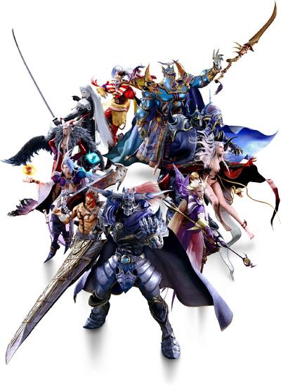 Dissidia Final Fantasy NT Main Villains.png