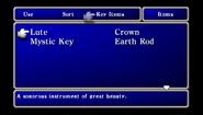 FFI PSP Key Item Menu