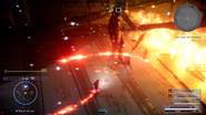 Ifrit blaze attacks from FFXV