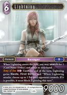 Lightning 1-141L from FFTCG Opus