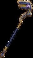 Lightning Staff from FFIX weapon render