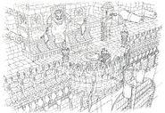 Lindblum Castle Scene FF9 Art