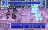 Maria using Esuna II from FFII Pixel Remaster
