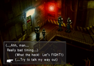 Missile Base talk the way out of trouble from FFVIII R