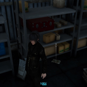 Scraps of Mystery VIII scrap location in FFXV.png