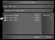 Timber Pet Shop Pet Pals from FFVIII Remastered