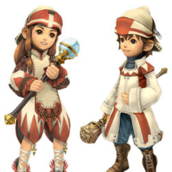 White Mage (My Life as a King)