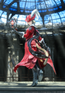 FFXIV Stormblood Red Mage CG render