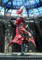 FFXIV Stormblood Red Mage CG render