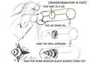 Magun transformation concept 2 for Final Fantasy Unlimited