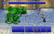 Maria using Scourge VI from FFII Pixel Remaster