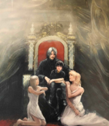 King Noctis and Family from FFXV Dawn of the Future