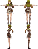 Mia from WotV render (2)