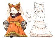 Noblewoman FFIX Art 1