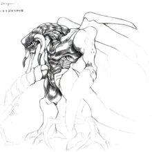 Onyx Dragon (unused) FFVII Art.jpg