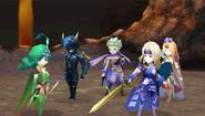 Sealed Cave FFIV DS Battle
